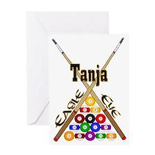 eagle_eye_Tanja Greeting Card
