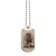cat_req_magnet Dog Tags