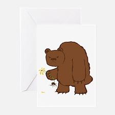 Flower Bear Greeting Cards (Pk of 10)