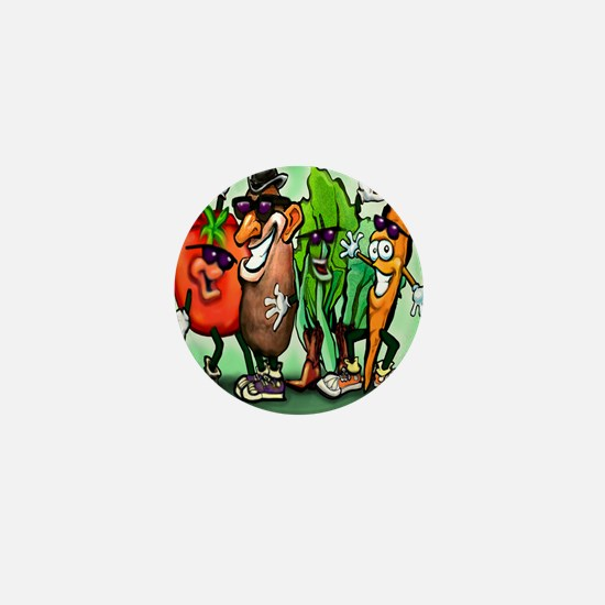 Veggie Gang SQ Mini Button