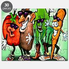 Veggie Gang SQ Puzzle