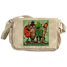 Veggie Gang SQ Messenger Bag