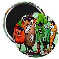 Veggie Gang SQ Magnet