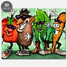 Veggie Gang Card Puzzle