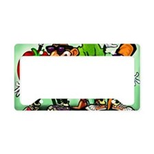 Veggie Gang Card License Plate Holder