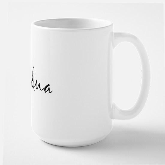 """I Love You"" [Albanian1] Large Mug"
