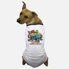 zombz_all_trouble_tshirt-01 Dog T-Shirt