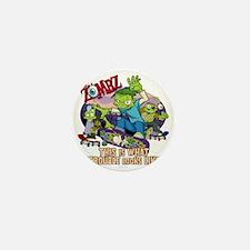 zombz_all_trouble_tshirt-01 Mini Button