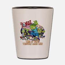 zombz_all_trouble_tshirt-01 Shot Glass