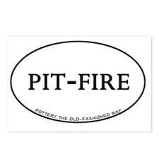 PitFire_Oval Postcards (Package of 8)