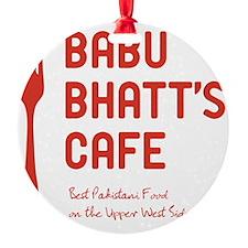 babuBhatt_tshirt_light Ornament