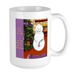 Snowman Decorating Christmas Tree Mugs