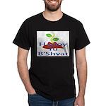 Happy Tu B'Shvat Dark T-Shirt