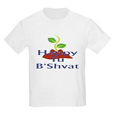 Happy Tu B'Shvat Kids T-Shirt