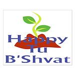 Happy Tu B'Shvat Small Poster