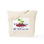Happy Tu B'Shvat Tote Bag