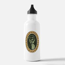 green-devil-ale-T Sports Water Bottle