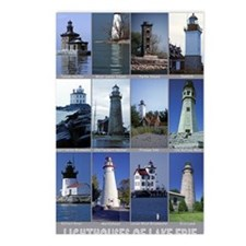 Lake Erie 9X12 Postcards (Package of 8)