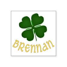 "brennan Square Sticker 3"" x 3"""