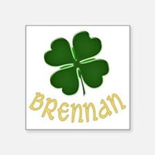 "brennan Square Sticker 3"" x 3"""