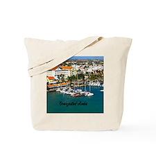Oranjestad Marina Aruba11x11 Tote Bag