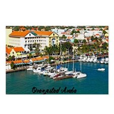 Oranjestad Marina Aruba11 Postcards (Package of 8)