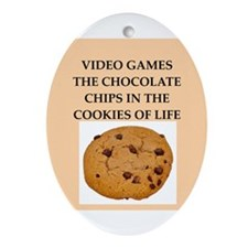 video games Ornament (Oval)