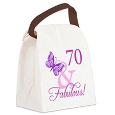 Fabulous_Plumb70 Canvas Lunch Bag