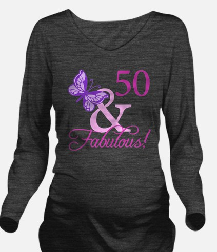 Fabulous_Plumb50 Long Sleeve Maternity T-Shirt