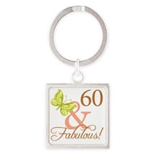 fabulous_autumn 60 Square Keychain