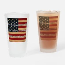 ConservativeDiet_9.25x7.75 Drinking Glass