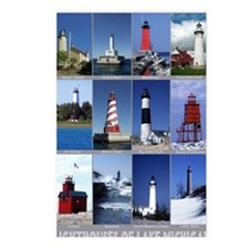 Lake Mich 9x12 Postcards (Package of 8)