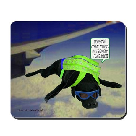 Black Lab Skydiving Mousepad