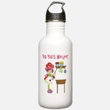yia yias helper cookin Water Bottle