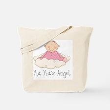 yia yias angel girl Tote Bag