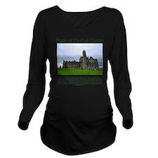2-rock-of-cashel Long Sleeve Maternity T-Shirt
