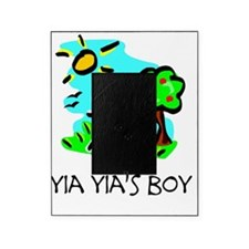 yia yias boy stick figure Picture Frame