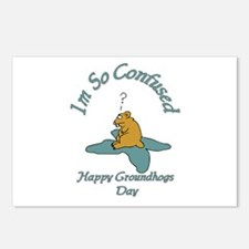 ground hogs day Postcards (Package of 8)