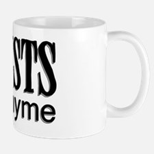 Lyricists do it in Rhyme Mug