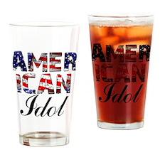 2 white Drinking Glass