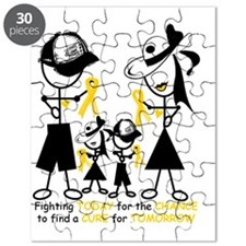 3-Childhood Cancer Awareness Puzzle