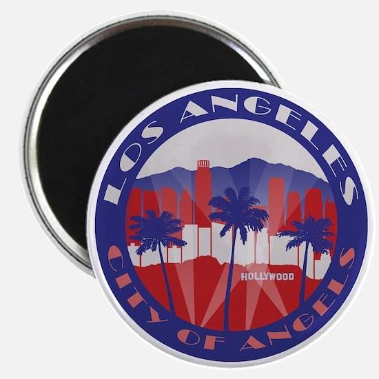 LA City of Angels patriot Magnets