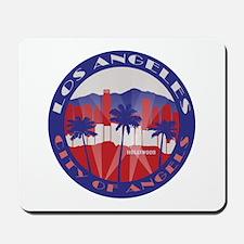 LA City of Angels patriot Mousepad