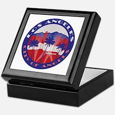 LA City of Angels patriot Keepsake Box