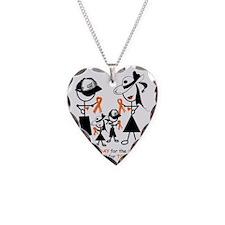 Luekemia Awareness Necklace