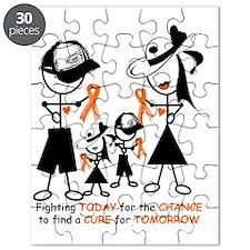 Luekemia Awareness Puzzle