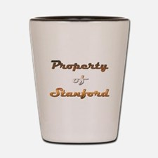 Property Of Stanford Male Shot Glass
