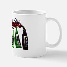 Wine Pouring from Bottles Mini Poster P Mug