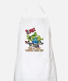 2-zombz_all_trouble_v2 Apron