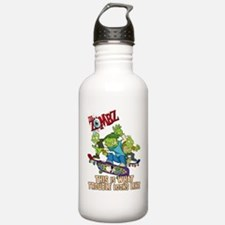 2-zombz_all_trouble_v2 Sports Water Bottle